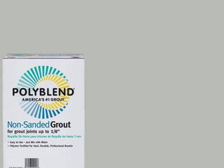 2  Custom Building Products Polyblend 1  546 Cape Gray   1 381 Bright white 10 lb  Non Sanded Grout