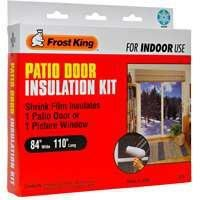 Frost King V76H Shrink Window Kit 84 Inch by 110 Inch  Clear