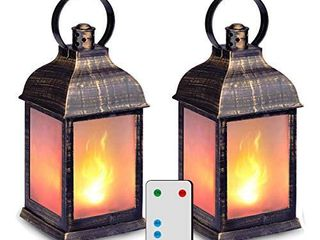11  Vintage Style Decorative lantern  NO REMOTE lANTERNS ONlY