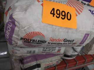 3  bags polyblend sanded grout  2  driftwood 1 charcoal