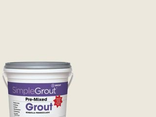 3 Custom Building Products SimpleGrout  381 Bright White 1 Gal  Pre Mixed Grout