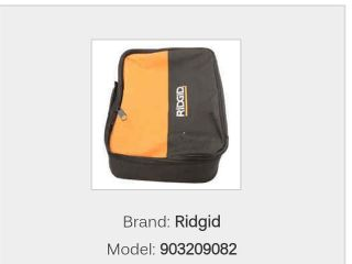 Ridgid 903209082 TOOl BAG  DIRTY