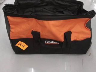 ridgid tool bag p n 903209077  APPEARS TO BE MISHAPED WHEN ZIPPED
