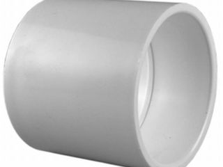 Container of Charlotte Pipe 3 4 in  PVC Schedule 40 S x S Coupling   White AMOUNT unknown not COUNTED