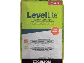 Custom Building Products levellite 30 lb  Self leveling Underlayment