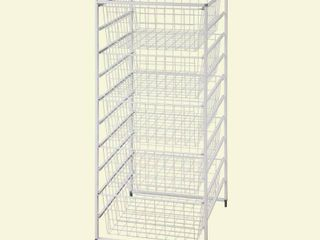ClosetMaid 17 75 in  x 40 25 in  x 21 IN Drawer Kit with 5 Wire Basket  White