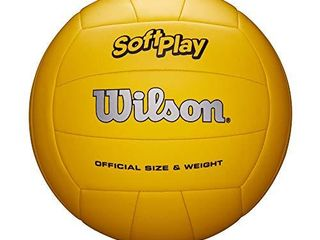 Wilson Outdoor Soft Play Volleyball  Yellow