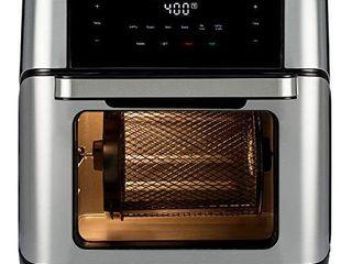 Instant Vortex Plus Air Fryer Oven 7 in 1 with Rotisserie  10 Qt  EvenCrisp Technology