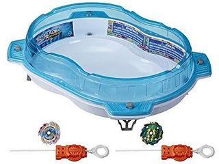 BEYBlADE Burst Rise Hypersphere Vertical Drop Battle Set   Complete Set with Beystadium  2 Battling Top Toys and 2 launchers  Ages 8 and Up