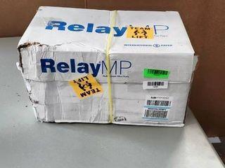 Relay MP  Multipurpose Copy Paper  20lb  8 5 x 11  92 Bright   10 Ream Carton   5 000 Sheets  013020C