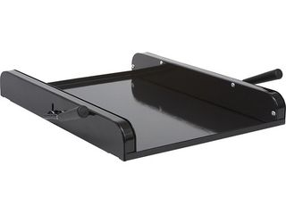 lipper International 8701B Rolling Platform for Mixers and Appliances  15 3 4  x 11 7 8  x 2 1 8  Black