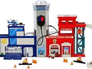 Matchbox Rescue Headquarters Playset  multicolor