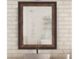 Carbon loft Crome Cabin Trunk Chestnut Brown Mirror