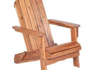 Walker Edison Acacia Adirondack Chair