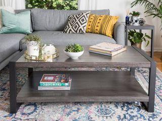 Carbon loft Hamilton 48 inch Charcoal Urban Blend Coffee Table