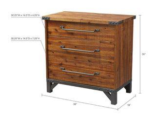 Carbon loft Hader Amber 3 drawer Dresser