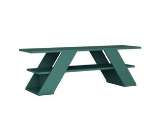 Tioga Modern TV Stand  Turquoise