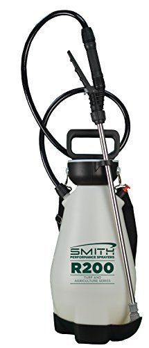 Smith Performance Sprayers R200 2 Gallon Compression Sprayer for Pros Applying Weed Killers  Insecticides  and Fertilizers