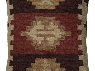 FOUR  Rizzy Home Woven Southwest Patterned 18 inch Decorative Throw Pillows