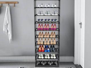 3 10 Tier Shoe Rack Entryway Shoe Shelf Organizer