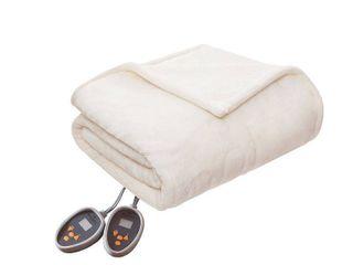 Woolrich Plush to Berber Heated Blanket