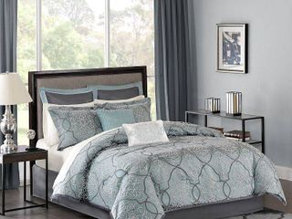 Home Essence Octavia Jacquard Bed in a  ripped  Bag Comforter Bedding Set