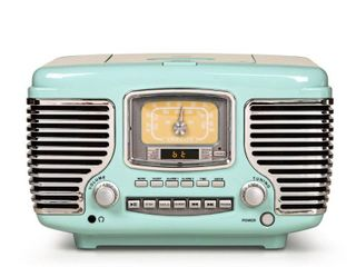 Corsair Radio Cd Player   Aqua Blue   11 3  W x 6 7  D x 7 1  H