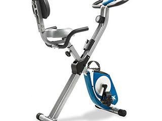 XTERRA Fitness FB350 Folding Exercise Bike  Silver