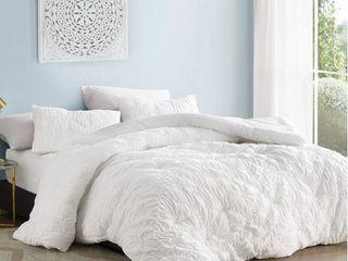 Farmhouse Morning Textured Oversized Comforter