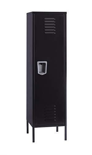 Office Dimensions Personal locker Storage Cabinet  Black