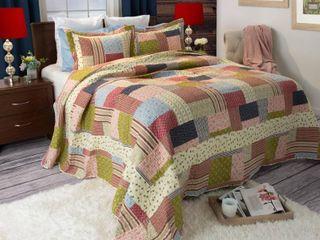 Windsor Home Savannah 3 piece Quilt Set