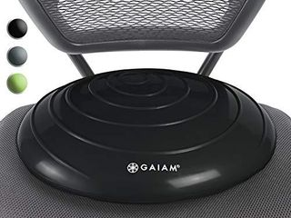 Gaiam Balance Disc Wobble Cushion Stability Core Trainer For Home Or Office Desk Chair and Kids Alternative Classroom Sensory Wiggle Seat