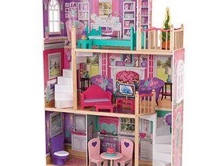 KidKraft 18  Dollhouse Doll Manor  Multicolor