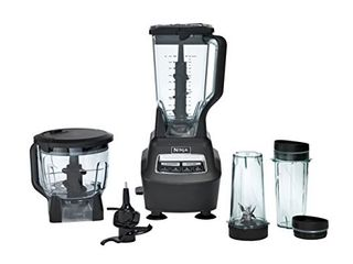 Ninja Bl770 Mega Kitchen System and Blender with Total Crushing Pitcher  Food Processor Bowl  Dough Blade  To Go Cups  1500 Watt Base  Black