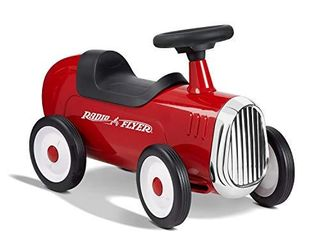 Radio Flyer little Red Roadster  Toddler Ride on Toy  Ages 1 3  Amazon Exclusive