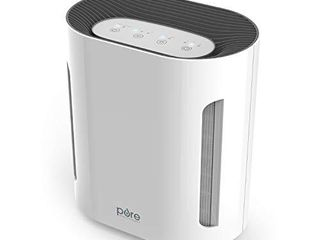 Pure Enrichment PureZone Air Purifier   3 Stage Filtration Cleans 99 97  of Air Particles with True HEPA Filter   UV C Sanitizer  Relieves Smoke  Dust  and Helps Alleviate Allergies Up to 200 sq ft