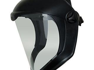 Uvex Bionic Face Shield with Clear Polycarbonate Visor and Anti Fog Hard Coat  S8510
