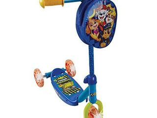 PlayWheels Paw Patrol 3 Wheel Scooter w light Up Wheels  Chase