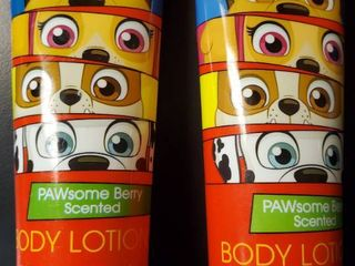 Nickelodeon Paw Patrol Pawsome Berry Scented Body lotion  Set of 2