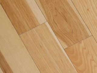 Home legend Wire Brushed Natural Hickory 3 8 in  T x 5 in  Wide x Varying length Click lock Hardwood Flooring  19 686 sq  ft   case