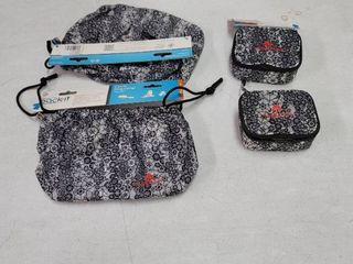 2 Eagle Creek Pack it Specter cinch organizer and 2 mini cubes