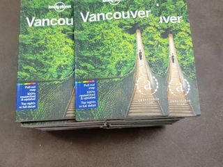 lot of 23 lonely Planet Vancouver    City Guide  7 Edition by John lee  Paperback