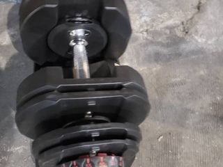 Dumbbell missing a weight