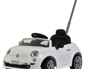 Fiat 500 push car White