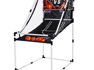 lancaster 2 Player Junior Home Electronic Scoreboard Arcade Basketball Hoop Game