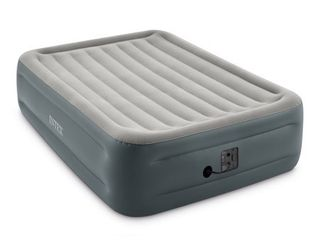Intex 64125EP Dura Beam Plus Essential Rest Inflatable Bed Air Mattress  Queen