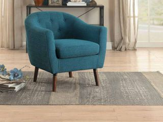 lucille accent chair  Blue color