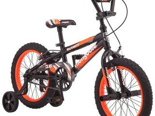 Mongoose 16  Mutant Kids BMX Style Bike  Black   Orange
