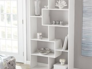 Mainstays 8 Cube Bookcase  White