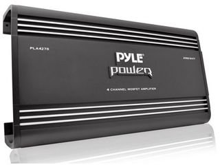 Pyle PlA4278 4 Channel 2000 Watt Bridgeable MOSFET Amplifier